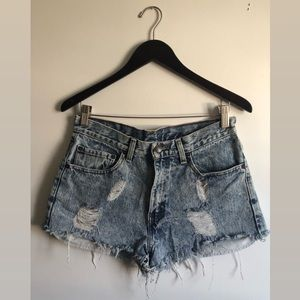 Urban Outfitters Acid Wash Shorts